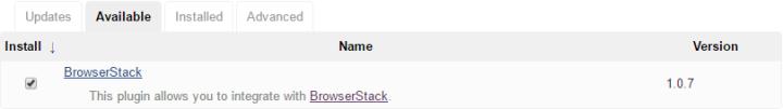 Choose: BrowserStack