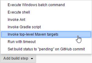 Invoke top-level Maven targets