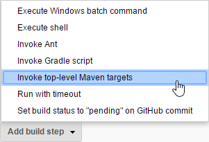 Invoke top-level Maven targets